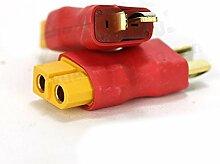 wchaoen Connecteur T Plug Male to XT60 Plug Female