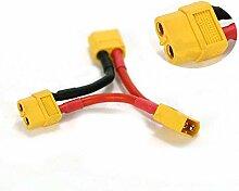 wchaoen Série XT60 Connecteur 1 femelle 2 mâle