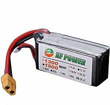 wchaoen XF Power 11.1V 1500mAh 70C 3S Lipo