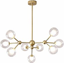 WDLWUJIN Lampes de Plafonnier Chandeliers