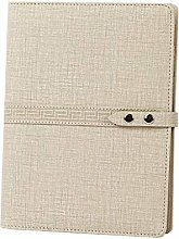 WE Carnet Journal Carnet Relié Textile Notebook,