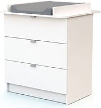 Webaby - commode à langer - blanc 90358202