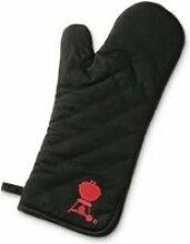 WEBER Gant de cuisson avec manche allongée - Noir