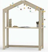 Weber Industries - Bureau cabane enfant en pin