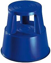 Wedo - Tabouret marchepied mobile plastique bleu