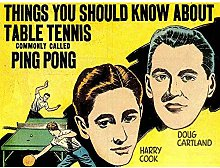 Wee Blue Coo Sport Book Cover Table Tennis Ping