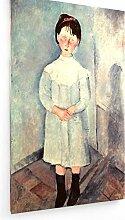 weewado Amedeo Modigliani - Fille en Bleu 60x100