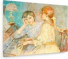 weewado Berthe Morisot - Le Piano - Peinture 1888