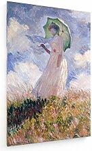 weewado Claude Monet - Femme au Parapluie 50x75 cm