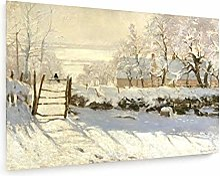 weewado Claude Monet - La Pie - 1868-69 60x40 cm