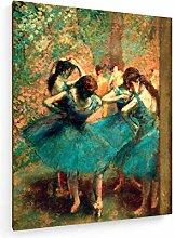 weewado Edgar Degas - Danseuses Bleues 60x75 cm