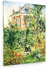 weewado Edouard Manet - Jardin de Bellevue - 1880