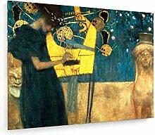 weewado Gustav Klimt - The Music - 1895 100x75 cm