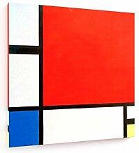 weewado Piet Mondrian - Composition en Rouge, Bleu