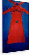 weewado Piet Mondrian - Moulin Rouge à Domburg