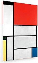 weewado Piet Mondrian - Tableau I - 1921 60x90 cm