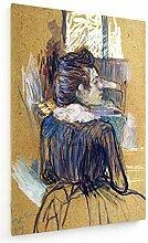 weewado Toulouse-Lautrec - Femme à la fenêtre -
