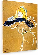 weewado Toulouse-Lautrec - Yvette Guilbert - 1894