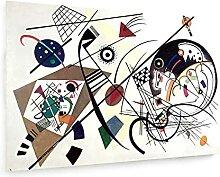 weewado Wassily Kandinsky - Ligne Continue - 1923