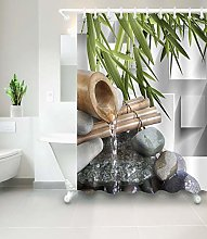 weifei888 Pierres Zen en Bambou Fontaine Étanche