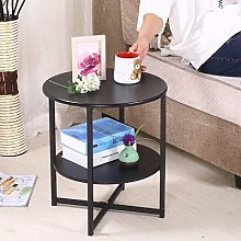 WEIHONG Table Simple Salon moderne Mini Round