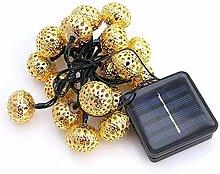 WEIZI 1.4M / 20LED Jeu de lumières solaires