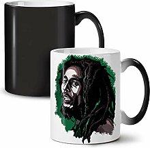 Wellcoda Cannabis Célébrité Bob Marley Tasse à
