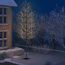 WELLIKEA Sapin de Noël 2000 LED Blanc Chaud