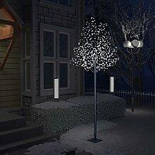 WELLIKEA Sapin de Noël 600 LED Blanc Froid