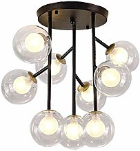 WEM Industrial Light Pendant Spoutnik 9 Light
