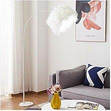 WEM Lampadaires domestiques Abat-jour en plumes