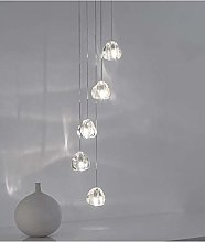WEM Led Moderne Suspension Boule de Verre Cristal