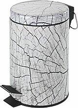 Wenko 21390100 Wood Poubelle à Pédale 3 L 15 x