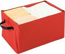 Wenko 4390008100 Loft Boîte de Rangement Rouge