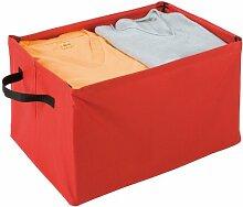 Wenko 4390009100 Loft Boîte de Rangement Rouge