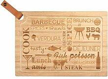 WENKO 53069100 Planche à Découper à Steak l,
