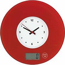 Wenko 53300100 Balance de Cuisine avec Horloge