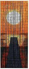 WENKO Rideau de bambou Coucher de soleil, Bambou,