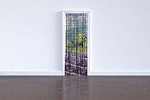 WENKO Rideau de bambou Provence, Bambou, 90 x 200