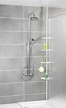 WENKO Salle de bain étagère d'angle douche