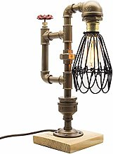 WENL Lampe Style Loft, The Cage, Style Vintage