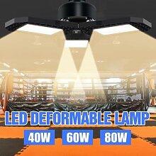 WENNI – lampe UFO E27 40W 60W 80W, lumière de