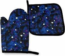wenxiupin Galaxy Stars Magi Glow in The Dark Santa