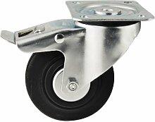 WERKA PRO - 2527 Roulette pivotante 100 mm avec