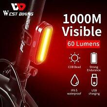 WEST BIKING – feu arrière de vélo à LED,