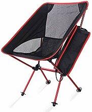 WGFGXQ Chaise De Camping Pliable Léger Léger