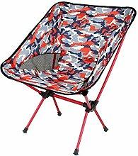 WGFGXQ Chaise De Camping Pliable Léger Portable