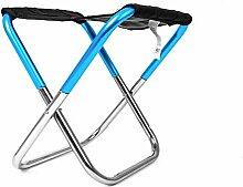 WGFGXQ Chaise de Camping Pliante, Cadre léger et