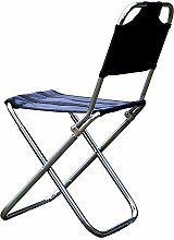 WGFGXQ Chaise de Camping Pliante Camping Chaise