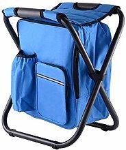 WGFGXQ Chaise de Camping Pliante Tabouret